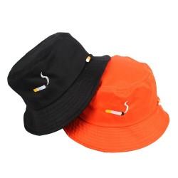 Cigarette & letters - hat - bucket cap - unisex