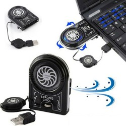 Mini USB cooling fan - LED - Notebook - laptop - computer
