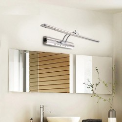 Modern bathroom mirror light with switch - LED lamp - stainless steel - waterproof - 220V - 7W - 9W