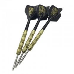 Dragon's emblem darts - copper - steel tips - 3 pieces