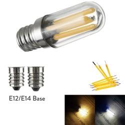 E14 - E12 - 1W - 2W - 4W - LED - fridge / freezer mini bulb - dimmable