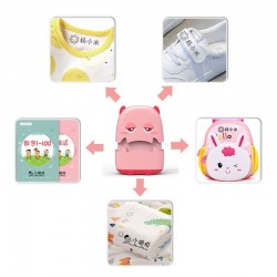 Baby name stamp - custom-made - handheld printer for clothes