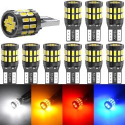 W5W - T10 - car LED canbus bulb - 10pcs