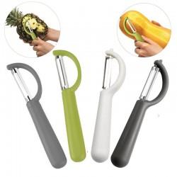 Fruit / vegetable sharp peeler - stainless steel