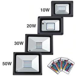 LED flood light - 10W - 20W - 30W - 50W - waterproof IP65