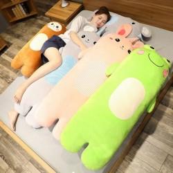 Animals shaped pillow - plush toy - rabbit - monkey - mouse - frog - 70cm - 100cm