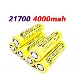 Lii-40A - 21700 - 4000mAh - 40A - original battery - rechargeable