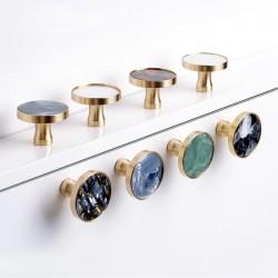 Brass furniture knobs /...