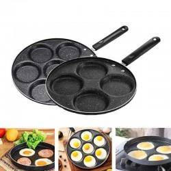 4 / 7 hole frying pan -...