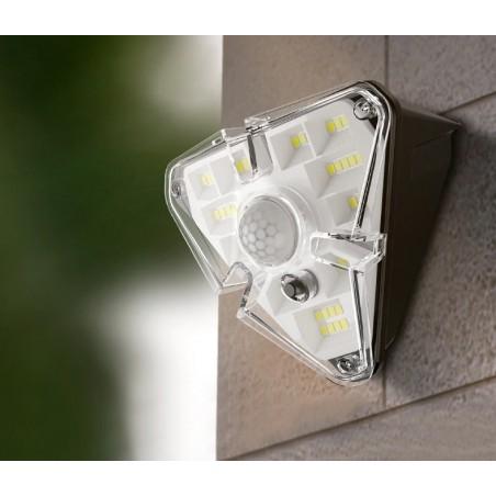 LED Solar light - outdoor wall lamp - PIR motion sensor - waterproof