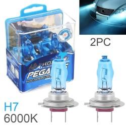 Halogen car lights - H1 / H3 / H4 / H7 / H9 / 880 / 881 / 9005 / 9006 - 2 pieces