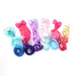 Gradient hair extensions - girls / women - with metal clip