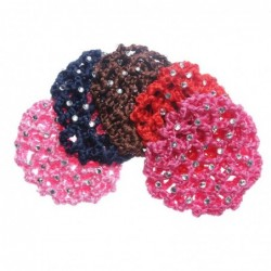 Fashionable crochet hair cover - net with crystals