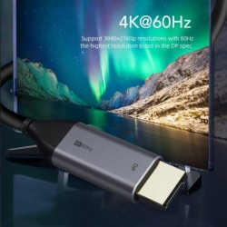 4K USB-C to DP cable - displayport - HDTV - 60Hz