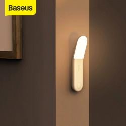 Baseus - lampada a induzione - luce notturna - con sensore di movimento - USB - LED