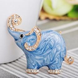 Elephant shaped - enamel...
