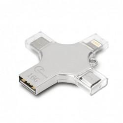 4 in 1 flash drive - micro USB / type-C / OTG - memory stick - 16GB / 32GB / 64GB / 128GB