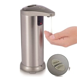 Automatic soap dispenser - stainless steel - infrared sensing
