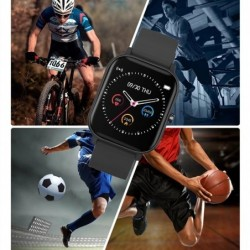 LIGE P8 - Smart Watch - Bluetooth - waterproof - LED - Android / IOS - unisex