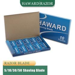 HAWARD - shaving razor blades - double edge - 5 / 10 / 30 / 50 pieces