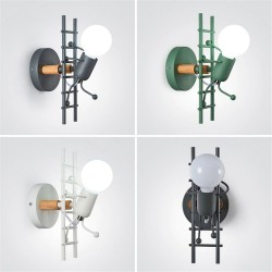 American industrial style - LED wall light - iron lamp - G80