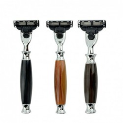 Manual razor - handle for Mach 3 razor blades