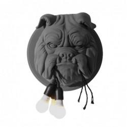 Nordic style - Bulldog's head with bulbs - LED wall lamp
