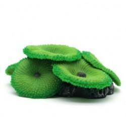 Fish Tank Aquarium Green Umbrella Soft Silicone Artificial Coral