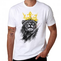 King Of Lion - cotton t-shirt