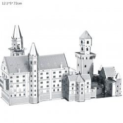 Kit costruzione castello metallico 3D Neuschwanstein