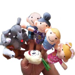 Fairy Tale Finger Puppets Set 8pcs