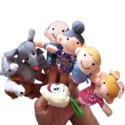 Fairy Tale The Enormous Turnip Finger Puppets Set 8pcs