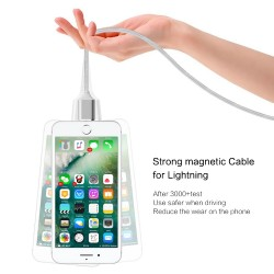 Magnet Magnetic USB Charging Data Cable for iPhone iPad iPod