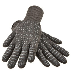 BBQ Fireproof Gloves With No-Slip Silicone Grips