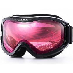 Gafas UV para Deportes Invernales Anti-Niebla con Lentes Dobles