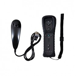 Wii 2 in 1 Wireless Controller Motion Plus & Nunchuck Controller