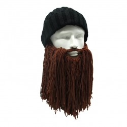 Viking Wool Beard & Hat Halloween Mask