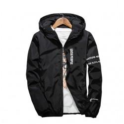 Slim Fit Hooded Jacket Windbreaker