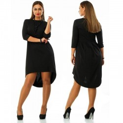 Plus Size Elegant Women's Dress