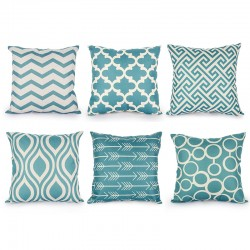 Scandinavian Style Pillowcase Cushion Cover Cotton 45 * 45cm