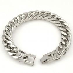 Silver Gold Stainless Steel Bracelet