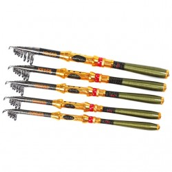 Carbon Telescopic Fishing Rod