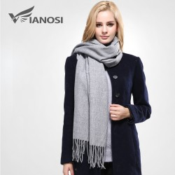 Luxury cotton winter scarf - premium quality