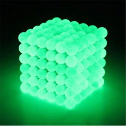5mm Sfere Magnetiche al Neodimio 216 pezzi Glow in the Dark