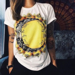 CDJLFH Women Clothing blusas 2017 Summer blouse Fashion Short Sleeve shirt Rock-shirt Camisetas y pl