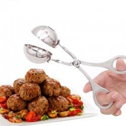 Stainless steel meatball maker