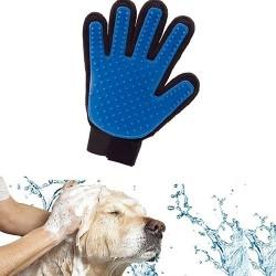 Guanto massaggio e rimozione pelo per cani