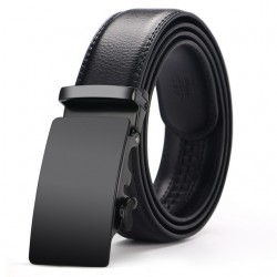 Cowhide Genuine Leather Automatic Buckle Belt