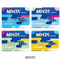 Scheda micro SD MIXZA 256GB 128GB 64GB 32GB Class10 UHS-1