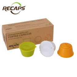 Nescafe dolce gusto reusable refillable capsules pods 3 pcs